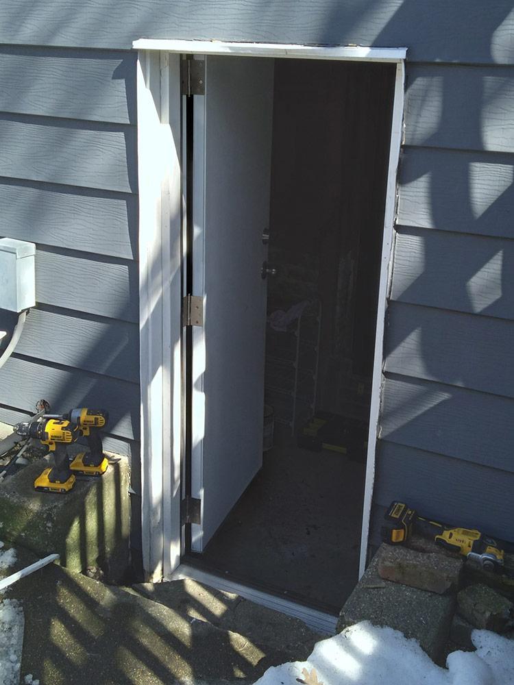 Chris' Door
