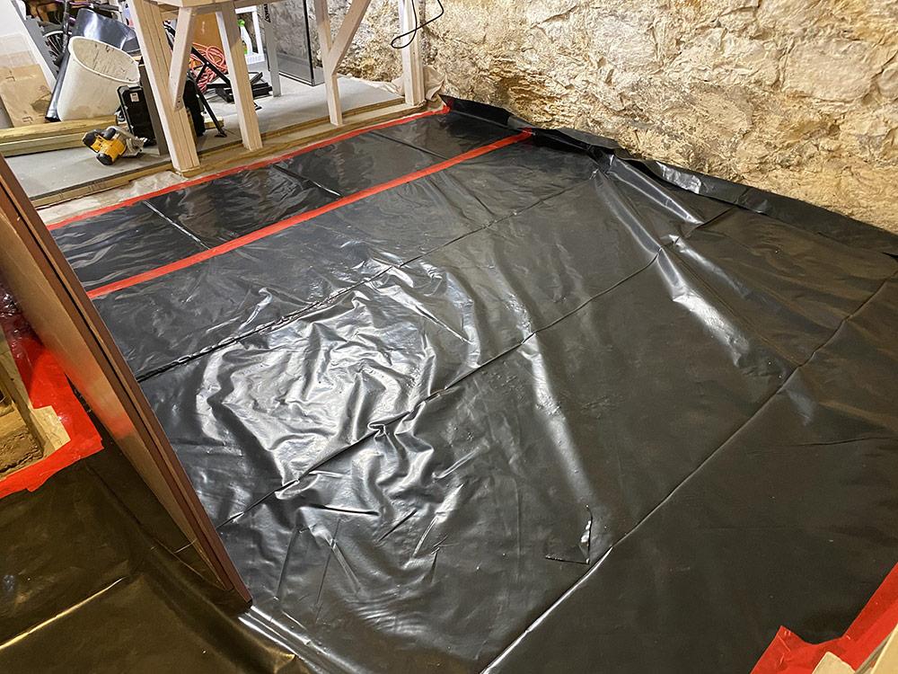 Rob's basement floor