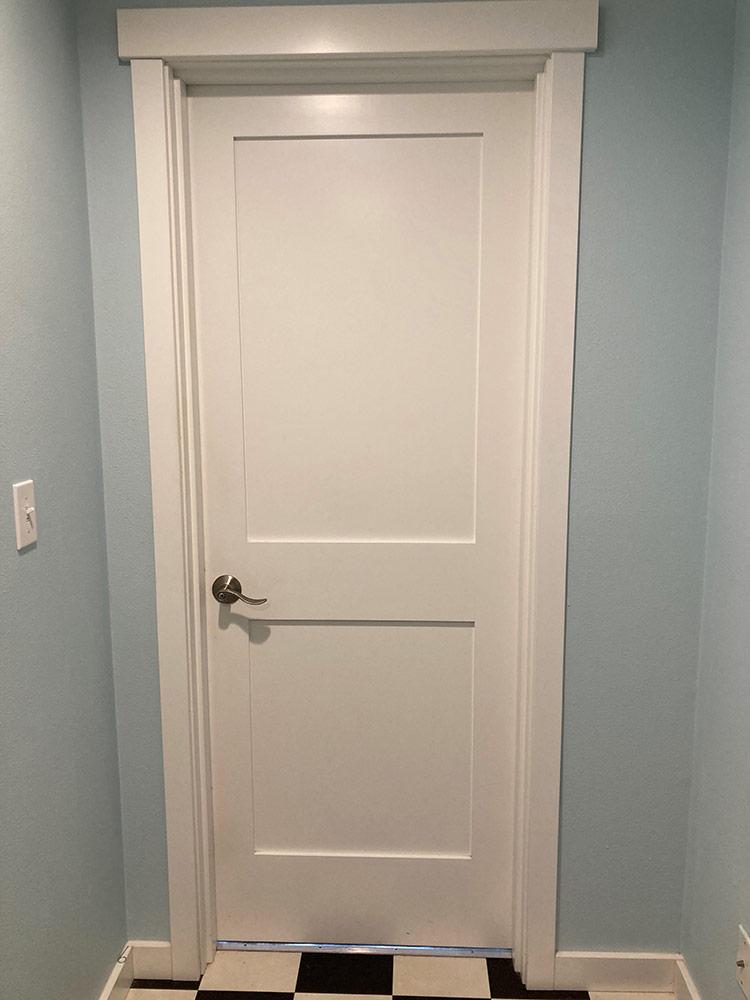 Wayne's door