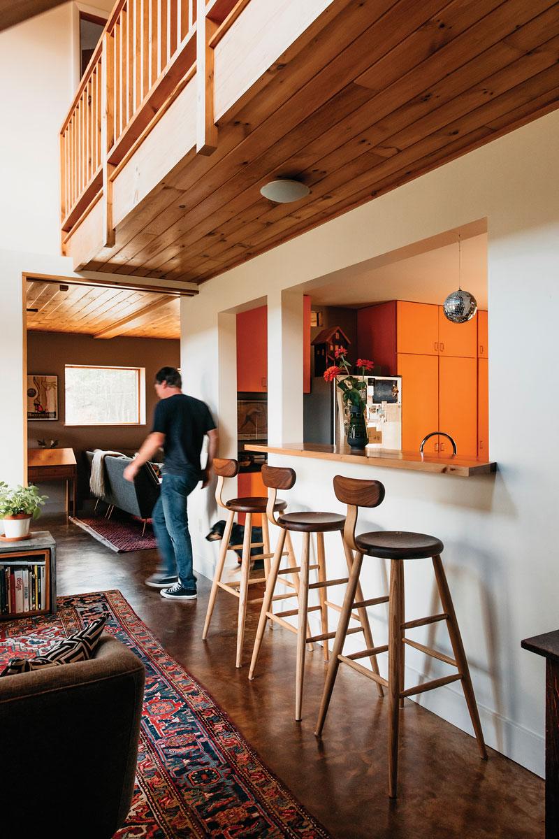 Living Room/ Kitchen Bar