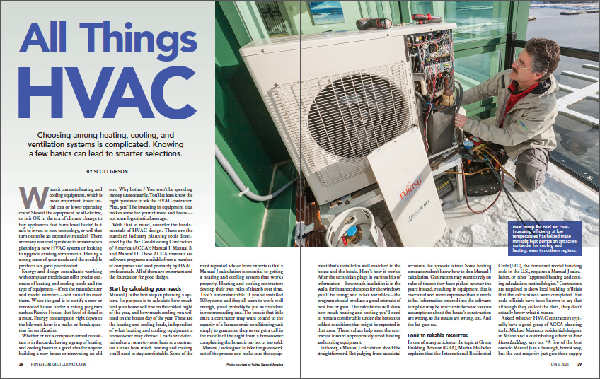 All Things HVAC Spread Image