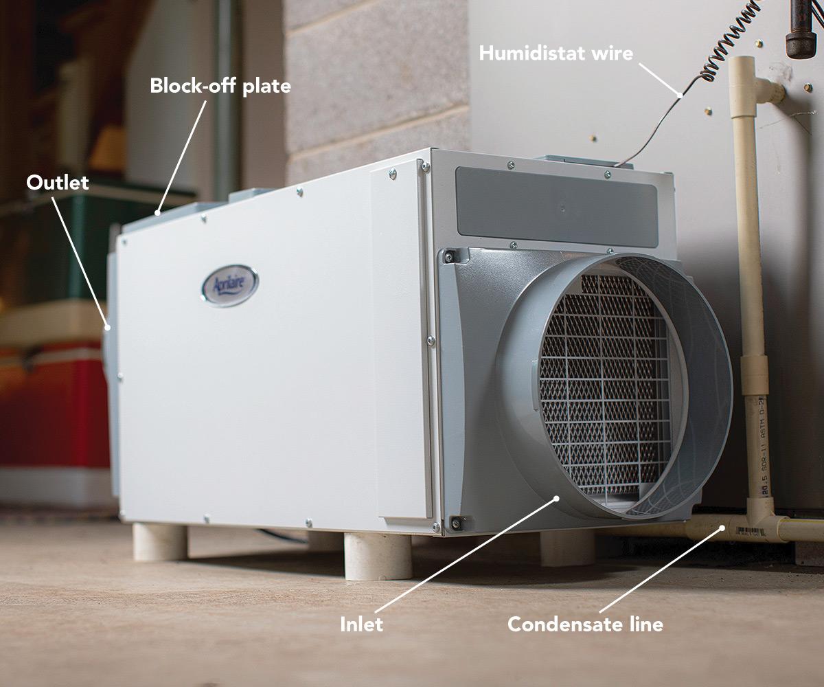 high-capacity dehumidifier parts