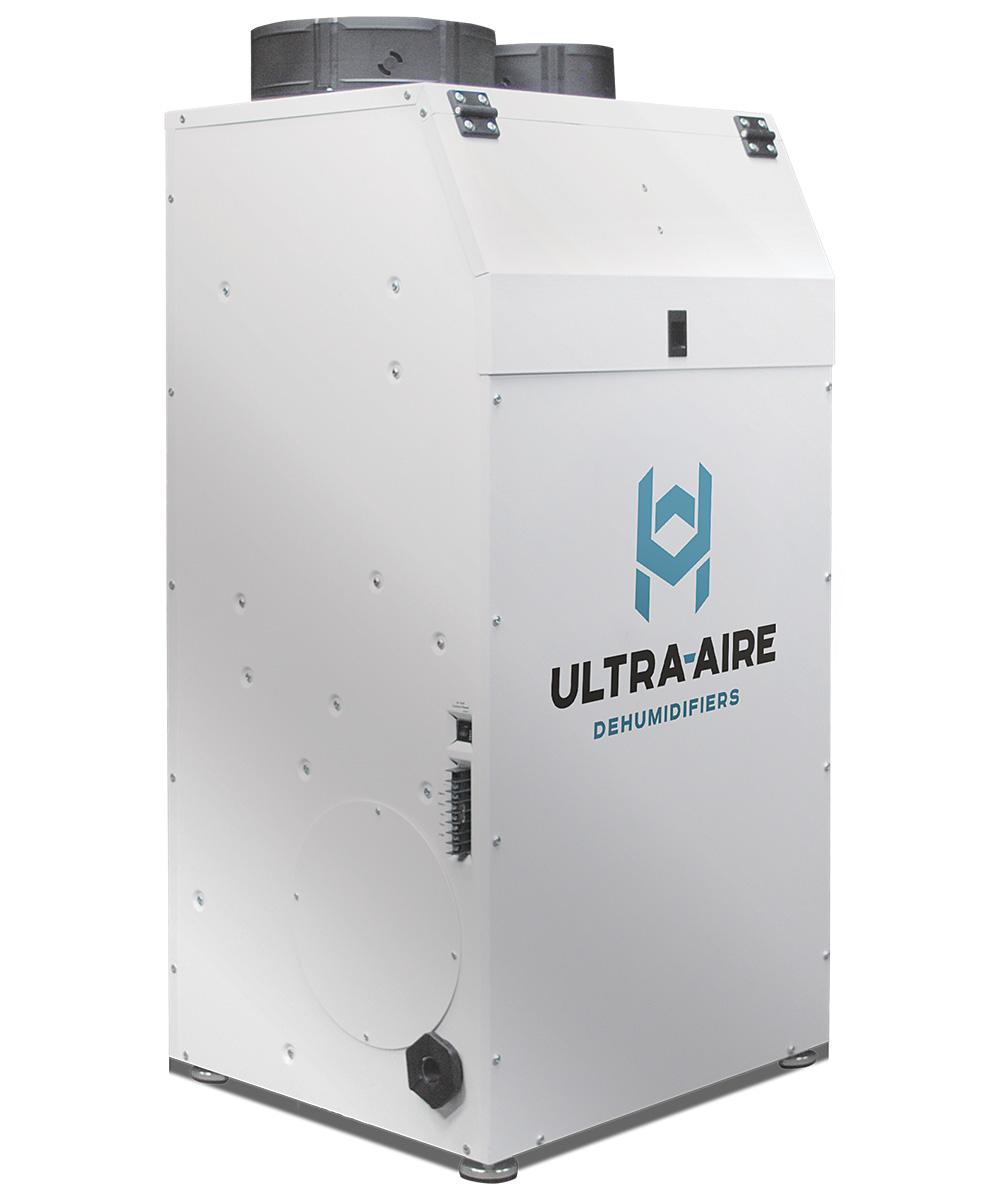 vertical high-capacity dehumidifier