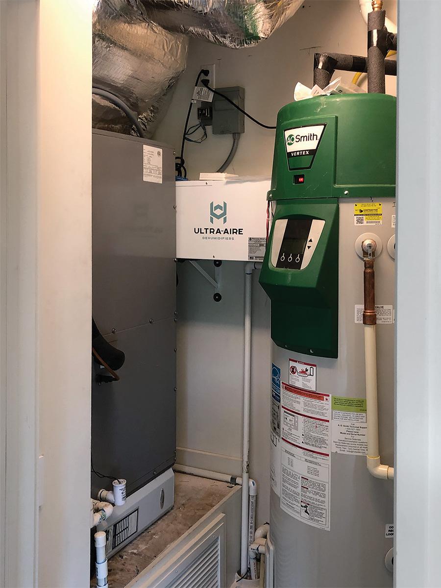 small high-capacity dehumidifier