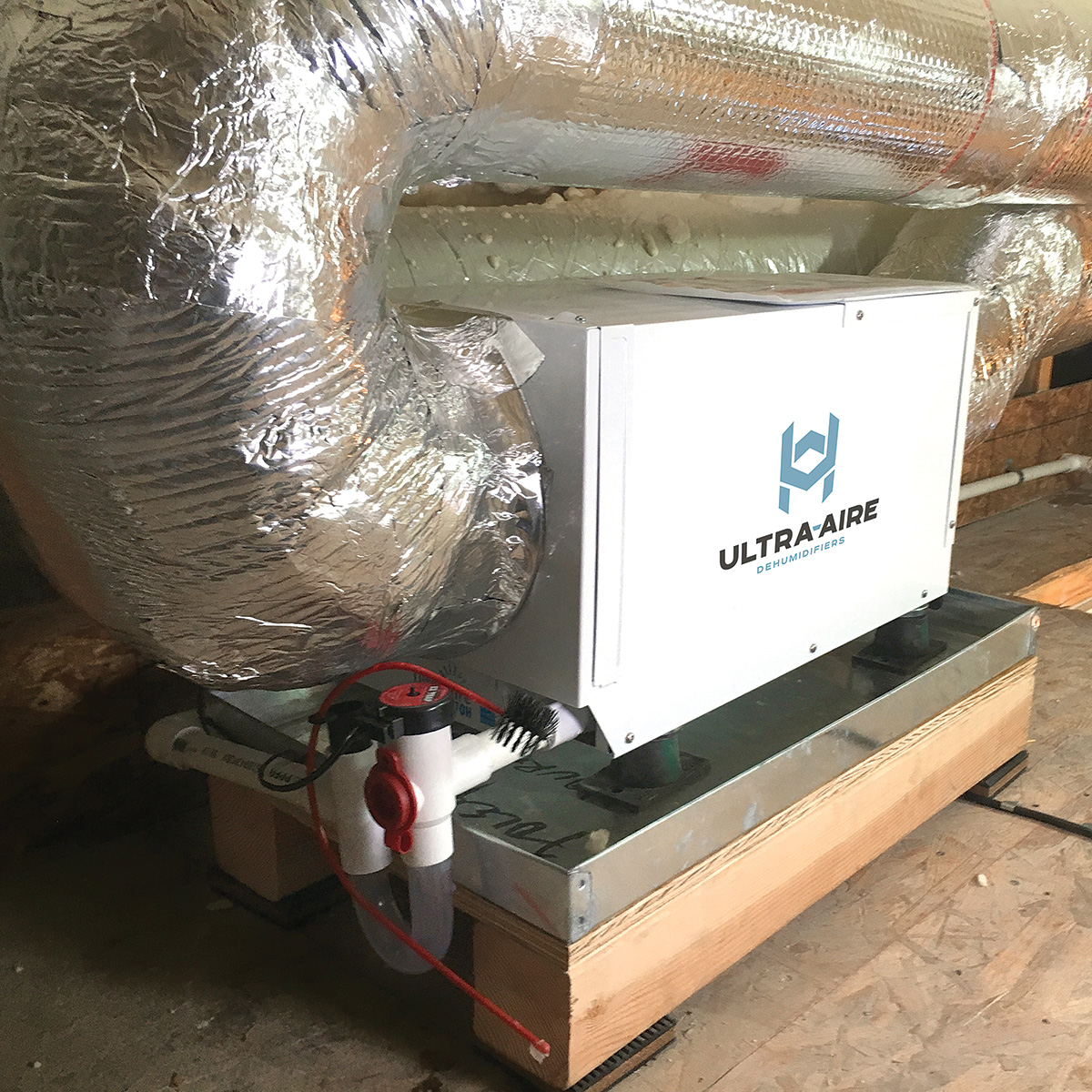 well-sealed ductwork