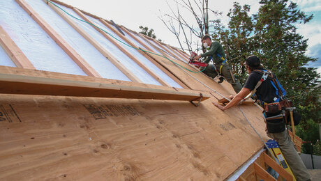 A New Take on Insulating a Roof