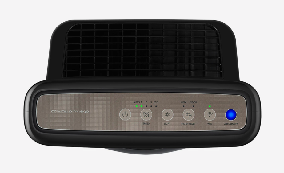 coway air purifier control panel