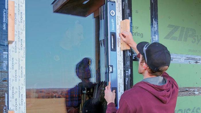 installing a new flangeless window