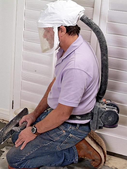powered air-purifying respirator