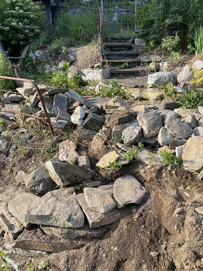 Rob's stonework