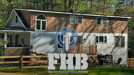 FHB Podcast 358: Workshop Ceiling Heights, Foamglas, and Low-Slope Metal Roofs