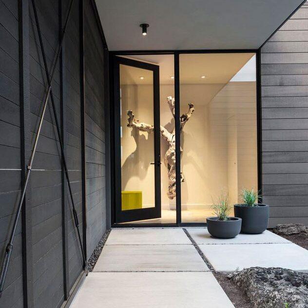 outdoor entrance
