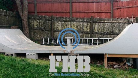 Podcast 360: Skate Ramps, Drilling Holes, and Fastening Drywall