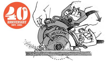 circular saw on-site