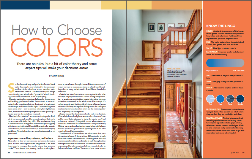 How to Choose Colors spread