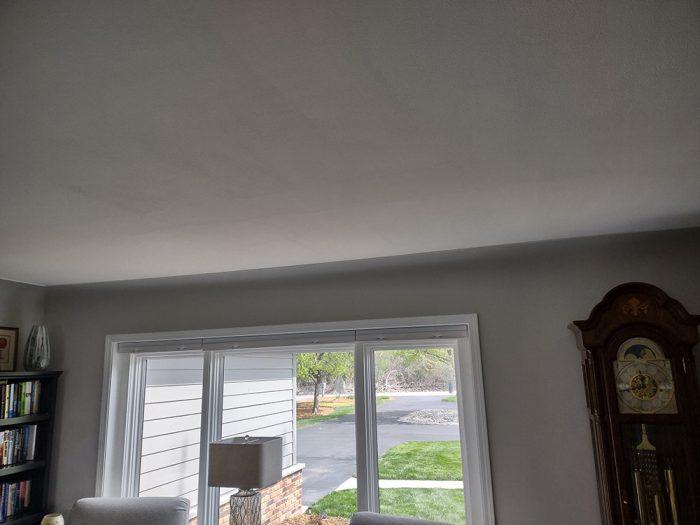 Tom's ceiling crack