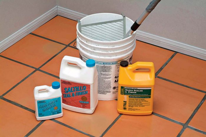 Sealers protect and enhance the beauty of your work and are easy to apply.