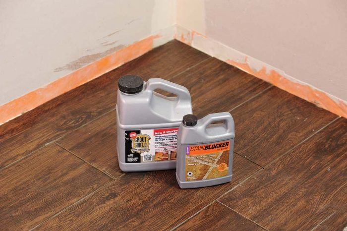 New grout additives are now available that make cement grouts much stronger and more impervious to stain. They are also easy to use as most are added with water or replace water entirely.