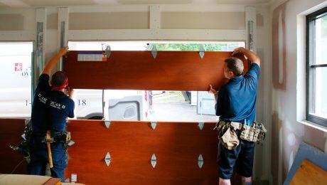 Clopay garage door install