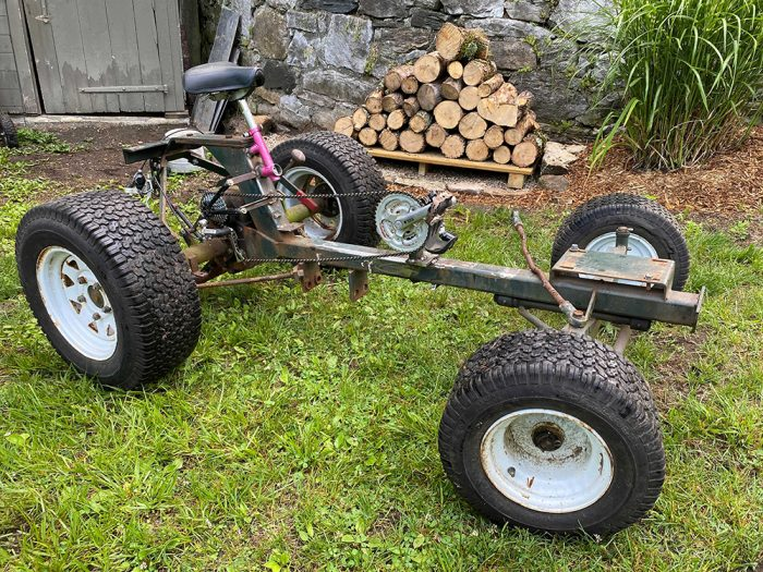 Rob's bike-tractor
