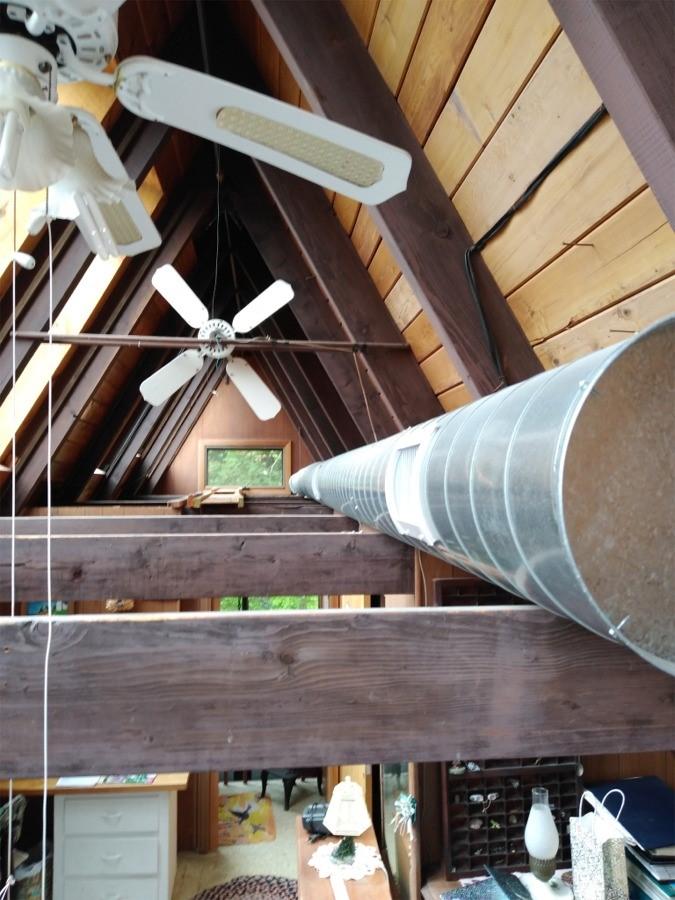 A-frame spiral duct