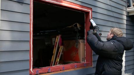 Replacing a window