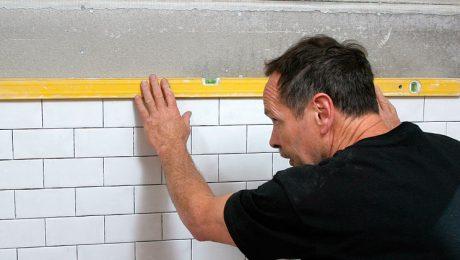 installing tile shower wall