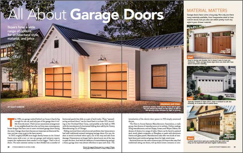 all about garage doors spread