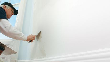 flattening a wall