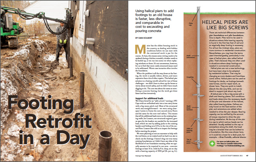 Footing Retrofit in a Day Spread Img