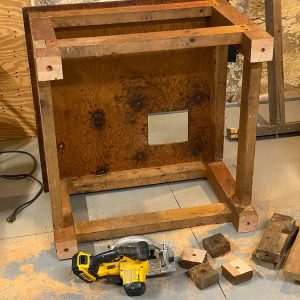 """Rob's """"new"""" tablesaw stand"""