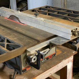 """Rob's """"new"""" tablesaw"""
