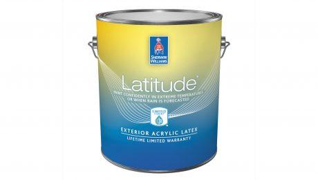 Bucket of Latitude exterior acrylic paint