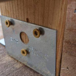 Matt's deck railing