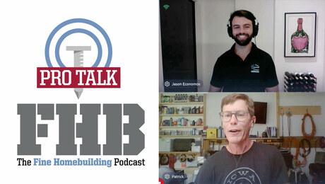 ) Fine Homebuilding Podcast 379: PRO TALK With Australian Builder Jason Economos