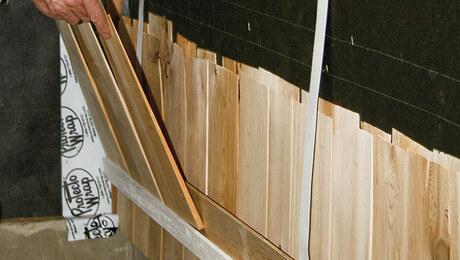 Installing Cedar Shingles