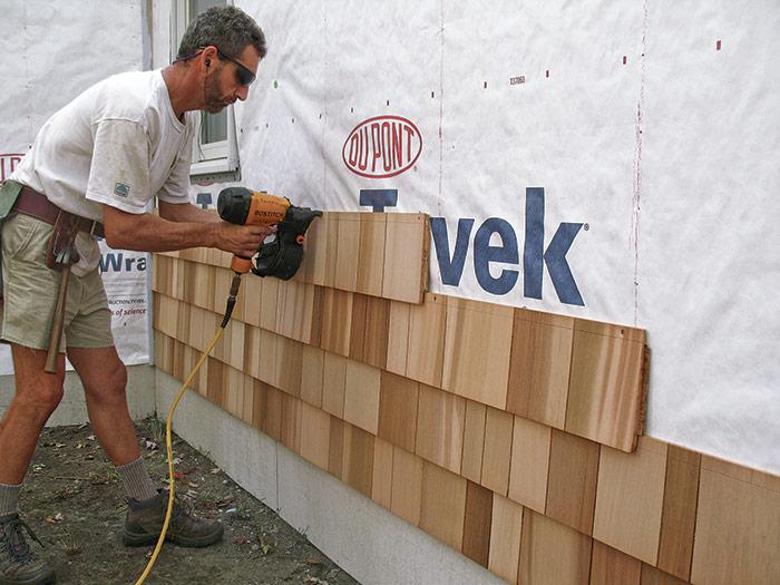 Manufactured shingle panels