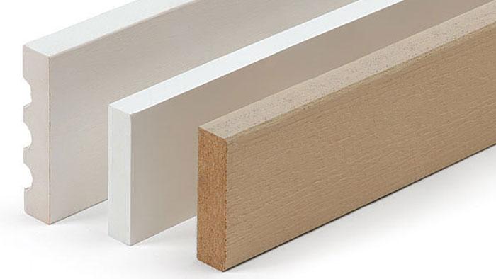 exterior trim board material options