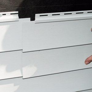 Lap abutting panels