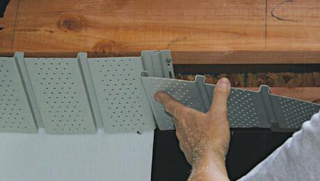 Installing a Vinyl Soffit