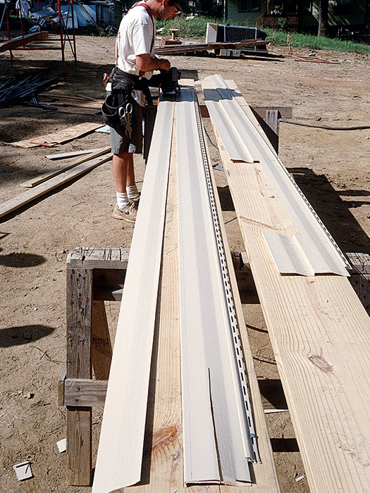 long, flat work surface