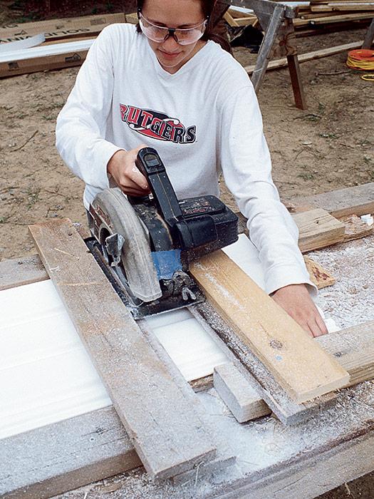 cutting jig for a circular saw