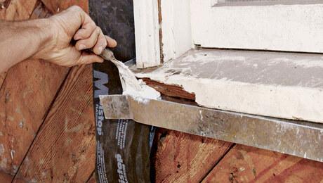 Repairing Exterior Trim