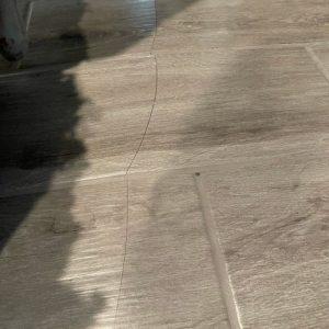 buckling tile