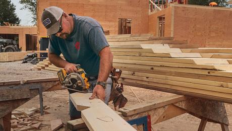 custom roof cutting