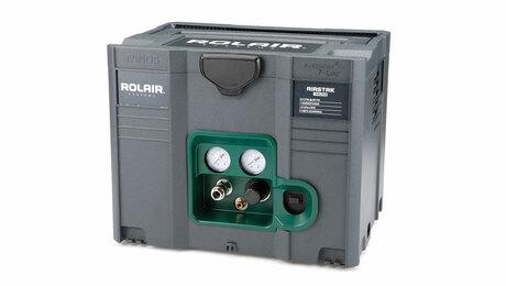 Rolair Airstak compact compressor