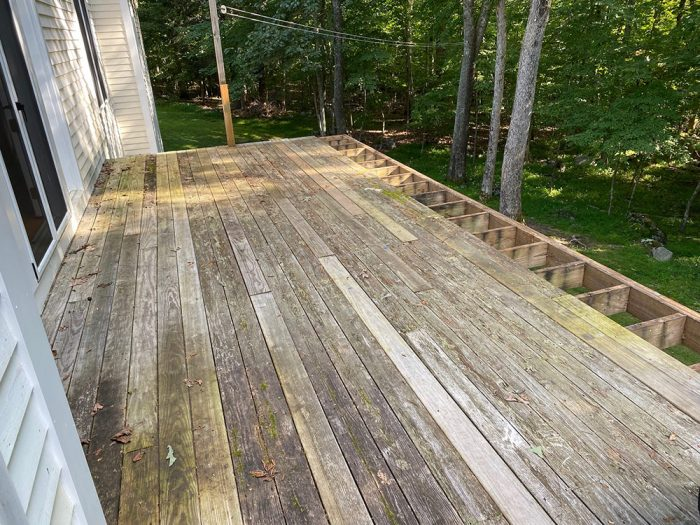 Jeff's re-decking project