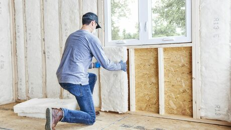 InsulPure from CertainTeed is resistant, lightweight insulation.
