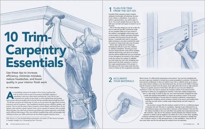 10 Trim-Carpentry Essentials