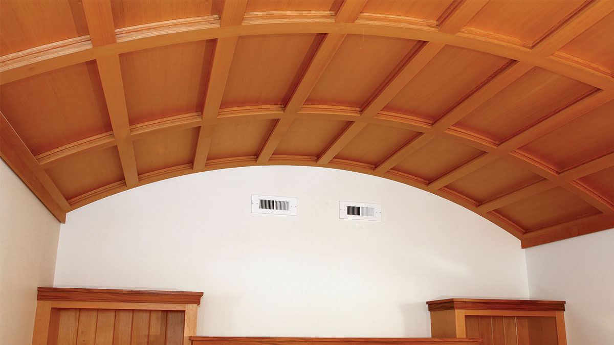 Wooden Ceiling Detail
